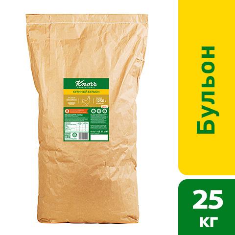 KNORR Бульон Куриный Сухая смесь (25 кг) - Бульоны KNORR придадут Вашим блюдам насыщенный вкус и аромат.