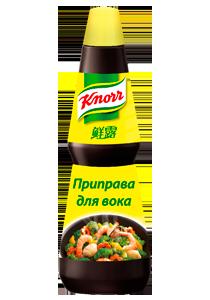 KNORR Жидкая приправа для блюд на воке (0,98кг)
