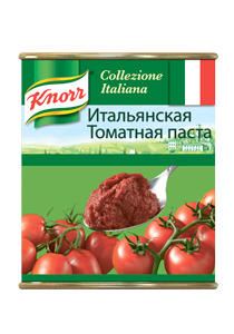 KNORR Итальянская томатная паста (0,8кг)