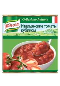 KNORR Итальянские томаты кубиком (2,55кг)