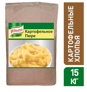 KNORR Картофельные хлопья (15кг) - Натуральные картофельные хлопья Knorr — многофункциональный ингредиент дляприготовления картофельных блюд.