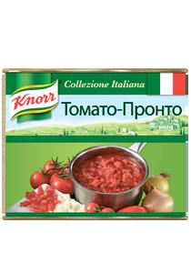 KNORR Консервированные овощи Томато-пронто (2кг) - KNORR Томато Пронто - томатный соус кубиком.