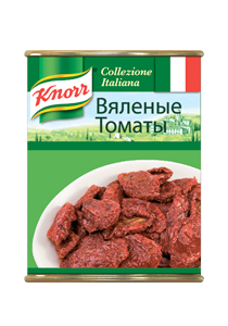 KNORR Консервы Вяленые томаты (750г) - Сочные итальянские томаты стабильного качества и вкуса!