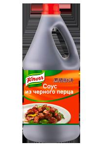 KNORR Соус из черного перца (2,3кг) - Соус из черного перца идеально подходит для приготовления свинины, говядины, блюд из мяса птицы, морепродуктов и рыбы.
