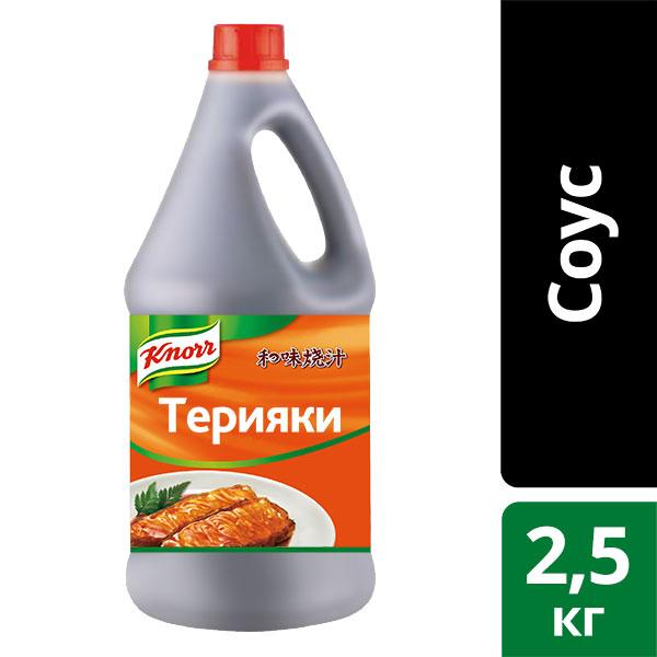 KNORR Соус пастообразный Терияки для вока (2,5кг)