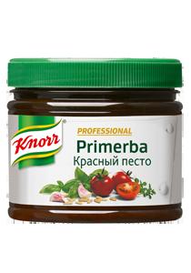 KNORR Primerba Приправа в растительном масле Красный песто (340г)