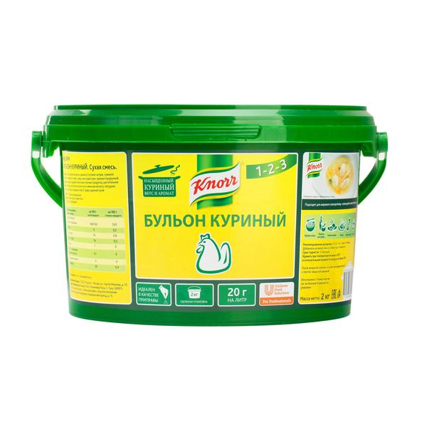 KNORR PROFESSIONAL Бульон куриный Сухая смесь (2кг)