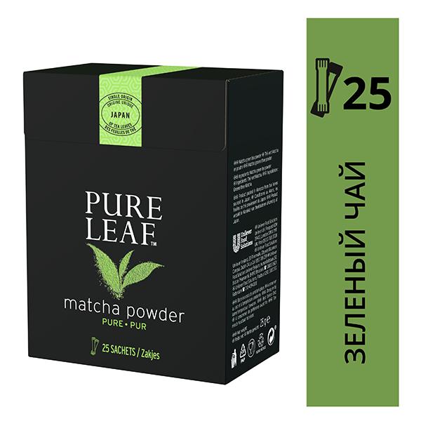 PURE LEAF зеленый молотый чай Matcha  - Чай может быть подан в оригинальном виде или как матча латте.