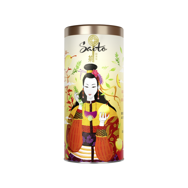 SAITO чай чёрный листовой с розмарином и кусочками груши - Saito чай чёрный листовой с розмарином и кусочками груши 80 гр