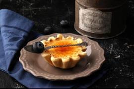 Крем-брюле в тарталетке