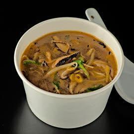 Суп постный с грибами и овощами