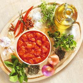 Томатный соус для пиццы с KNORR итальянская томатная паста