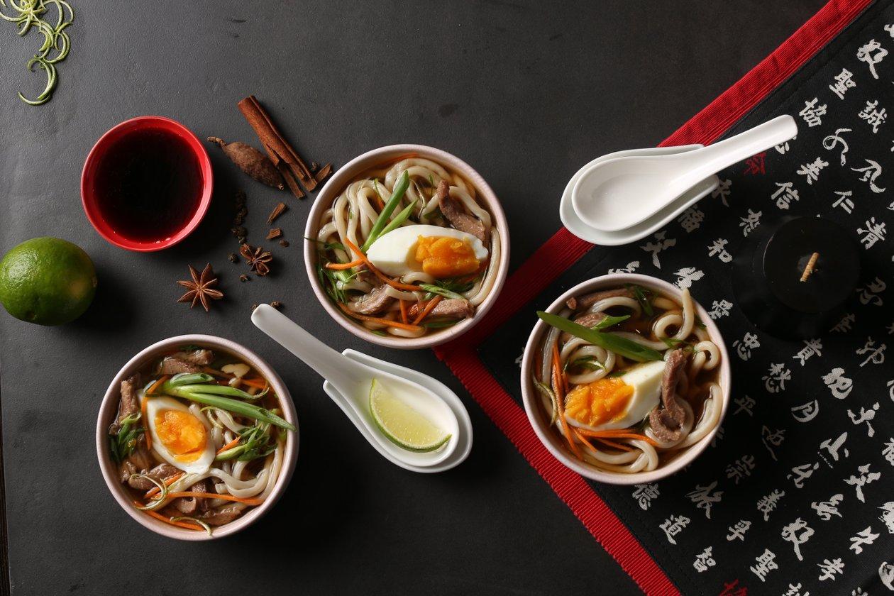 Азиатский суп с Хойсином