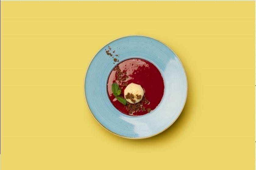 Малиновый суп