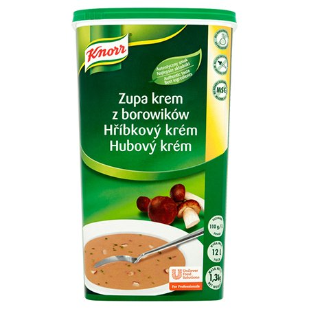Knorr Крем-суп з білих грибів суха суміш 1,3 кг -