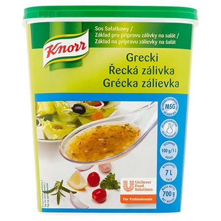 Knorr Салатна заправка Грецька суха суміш  0,7 кг -
