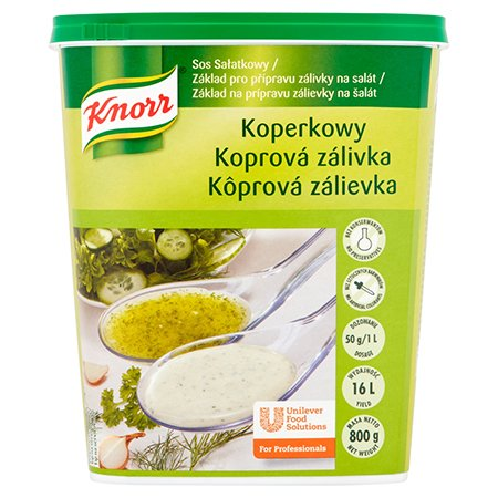 Knorr Салатна заправка  з кропом суха суміш  0,8 kg