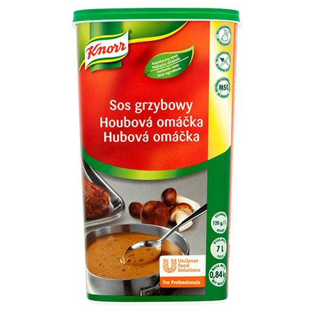 Knorr Соус Грибний суха суміш 0,84 кг