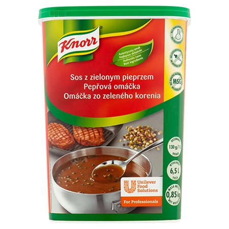 Knorr Соус з зеленим перцем суха суміш  0,85 кг -