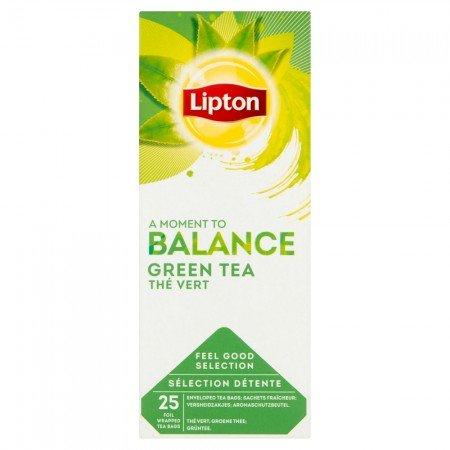 Lipton Green Tea Чай зелений 25 пакетиків в сашетах -