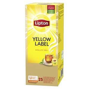 Lipton Yellow Label Чай чорний 25 пакетиків в сашетах