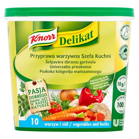 Knorr Приправа Делікат Універсальна овочева 1 кг - Добре підібрані спеції є секретом смаку та економії
