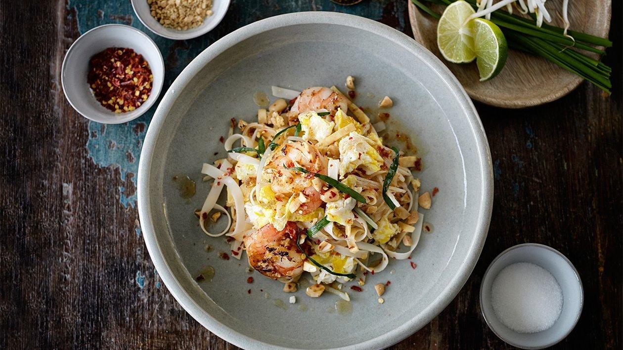 Пад-тай — східна паста з креветками – Рецепти