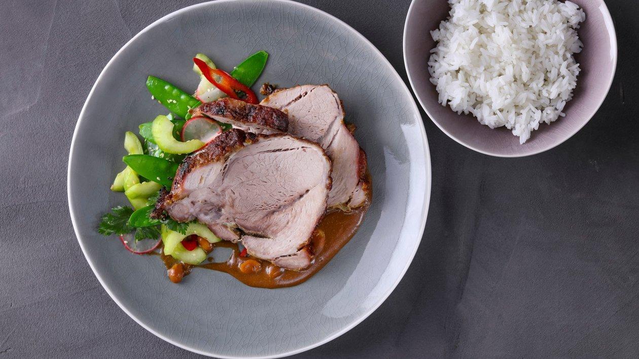 Повільно печена свинина в корейському стилі – Рецепти