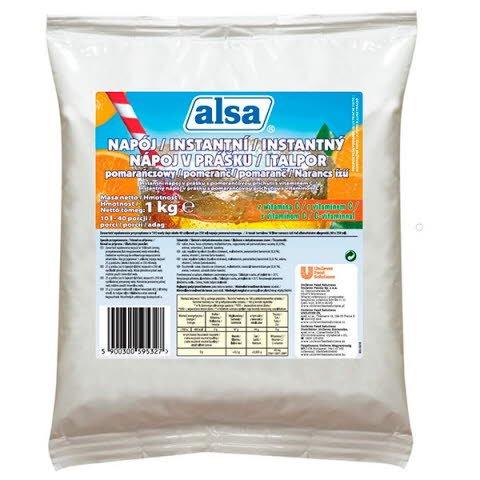 Alsa pomarančový nápoj 1 kg