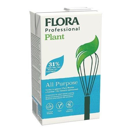 FLORA Professional PLANT (rastlinná) 31 % Na šľahanie