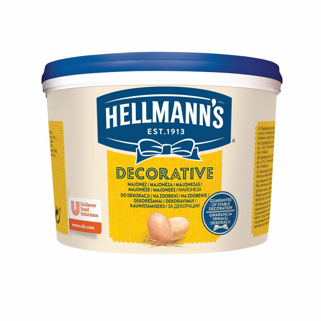 Hellmann´s DECORATIVE Majonéza 3l -