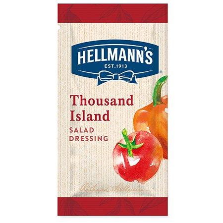 Hellmann's Dresing Tisíc ostrovov - porcie 50 x 30 ml -
