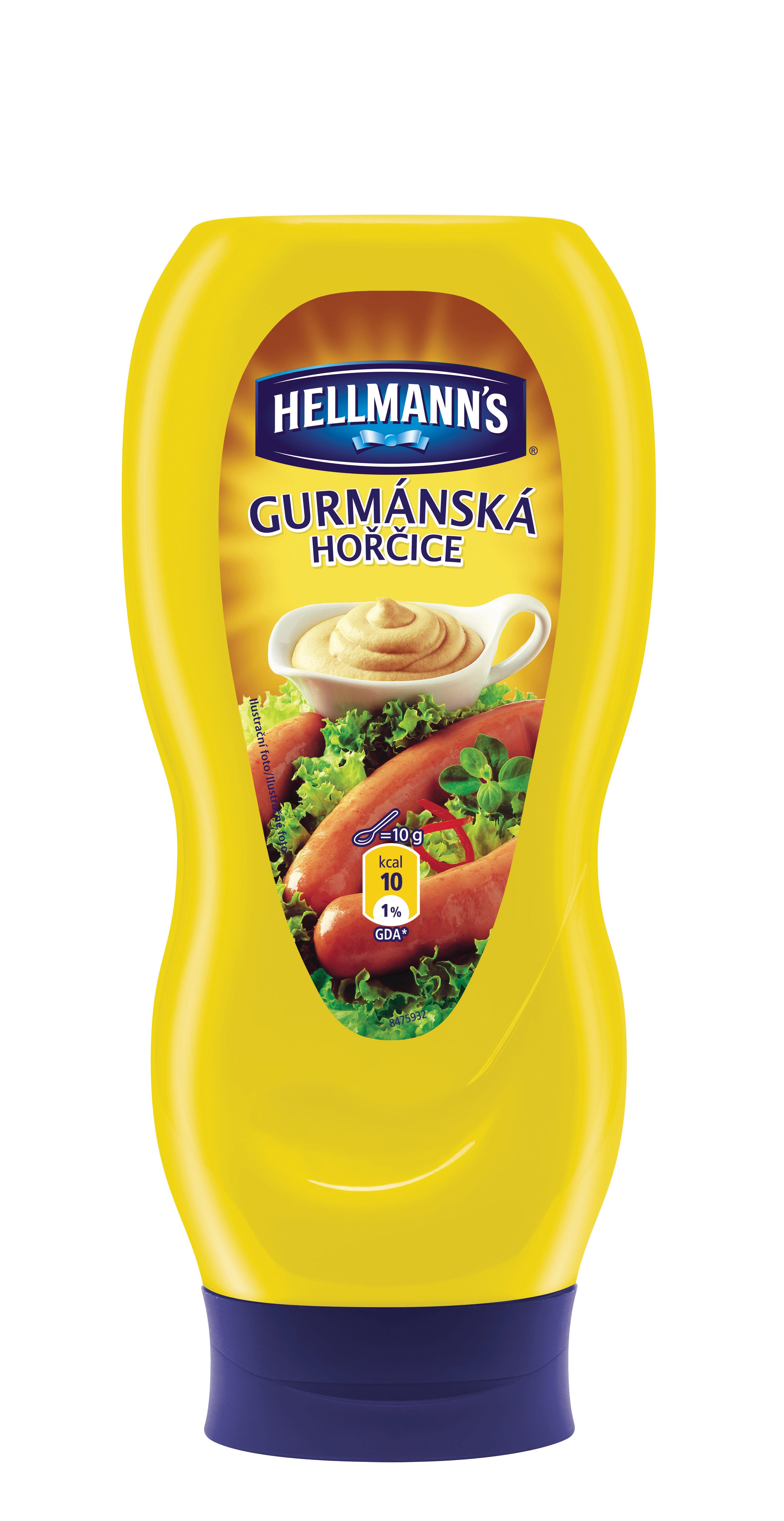 Hellmann`s Horčica Gurmánska 440g -