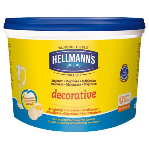 Hellmann´s DECORATIVE Majonéza 3l