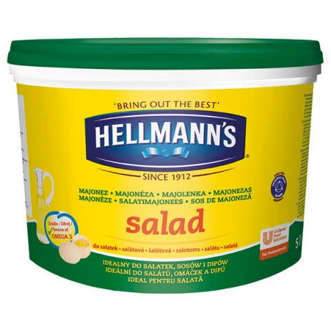 Hellmann´s Šalátová majonéza 5L -