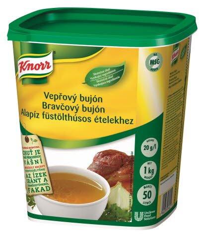 Knorr Bravčový bujón s vôňou údeného 1kg
