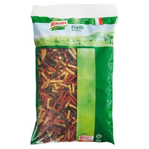 Knorr Fusilli Tricolore - Trojfarebné Vretienka 3kg -