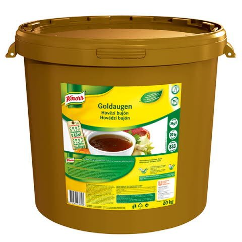 Knorr Goldaugen Hovädzí bujón 20kg -