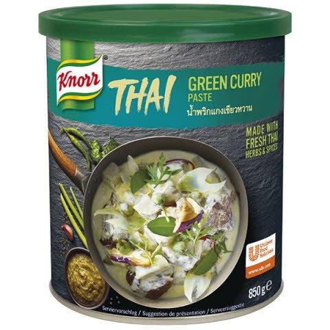 Knorr Karí pasta zelená -