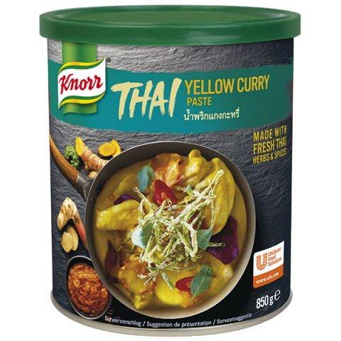 Knorr Karí pasta žltá