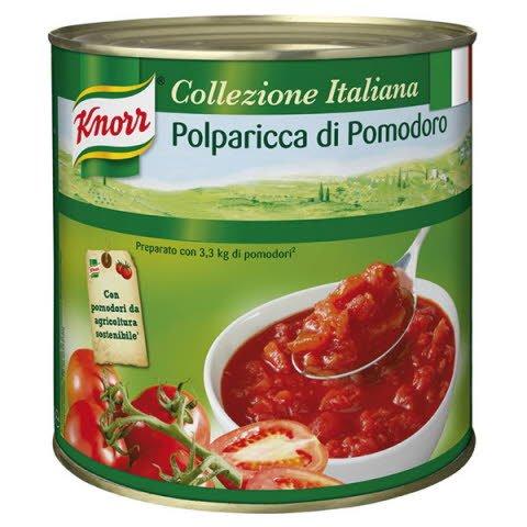 Knorr Krájané paradajky 2,55 kg -