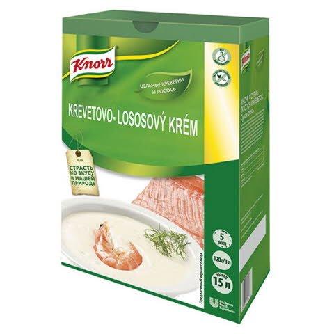 Knorr Krevetovo-lososový krém 1,8kg -