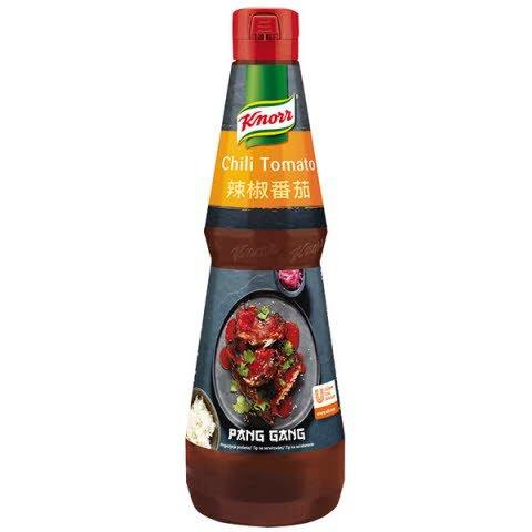 Knorr Pang Gang Omáčka chilli a paradajky 1L -