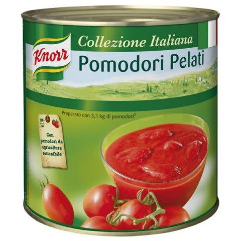 Knorr Paradajky celé - lúpané 2,5 kg -
