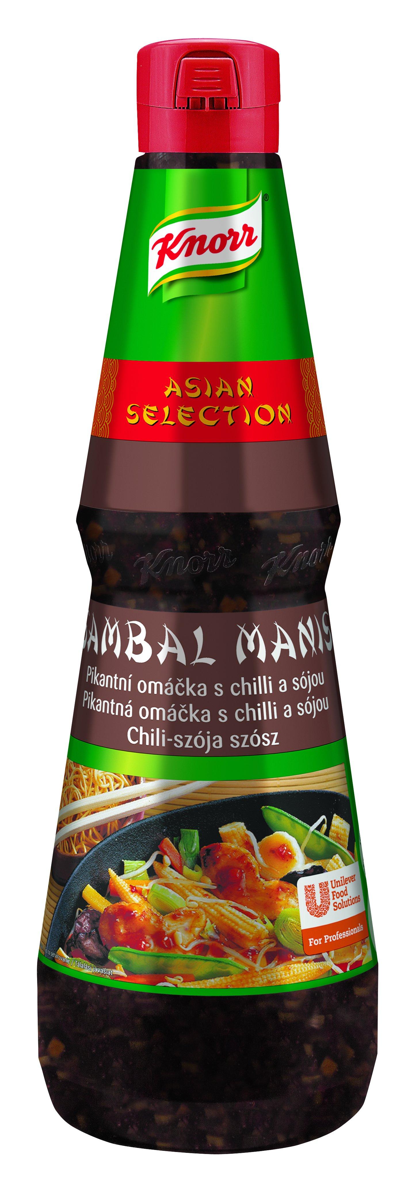 Knorr Sambal  Manis Omáčka chilli a sója 1L -