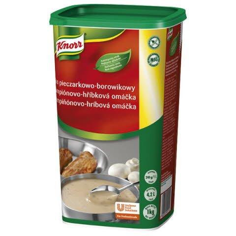 Knorr Šampiňónovo - hríbová omáčka 1kg -