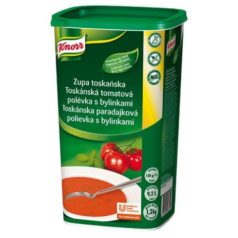 Knorr Toskánska paradajková polievka s bylinkami 1,2kg