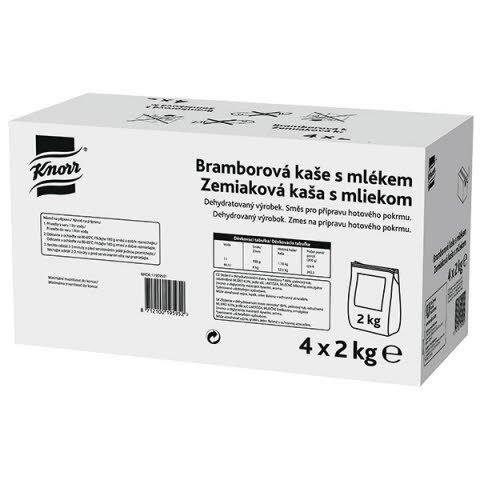 Knorr Zem.kaša s mliekom 8kg