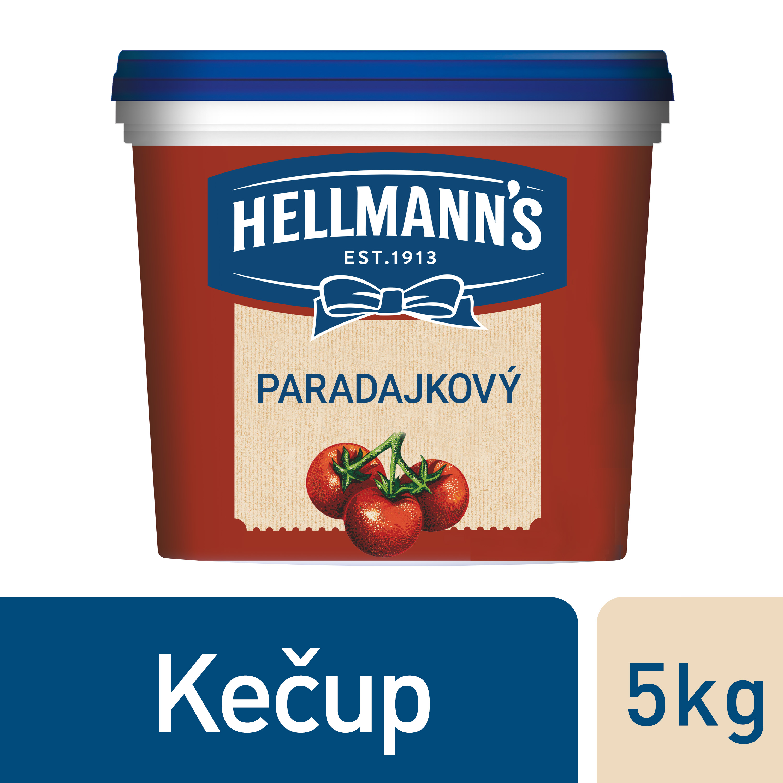 Hellmann´s Kečup 5kg - Hellmann´s kečup, z prvotriednych paradajok, z trvalo udržateľných zdrojov.