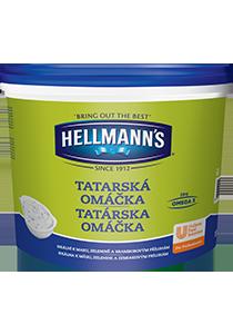 Hellmann´s Tatárska omáčka 10l - Hellmann's: tradičná chuť a kvalita